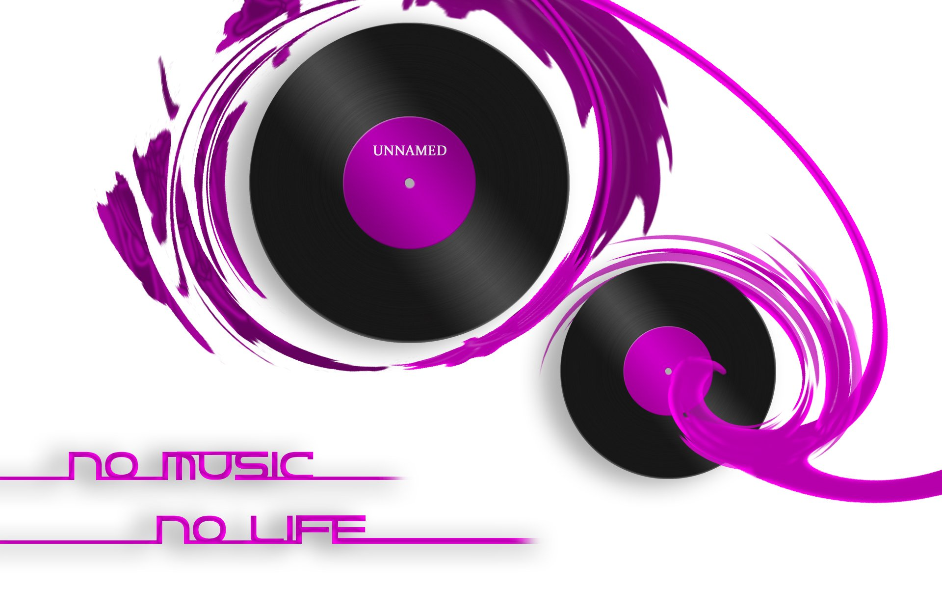 No Music No Life Hd Wallpaper