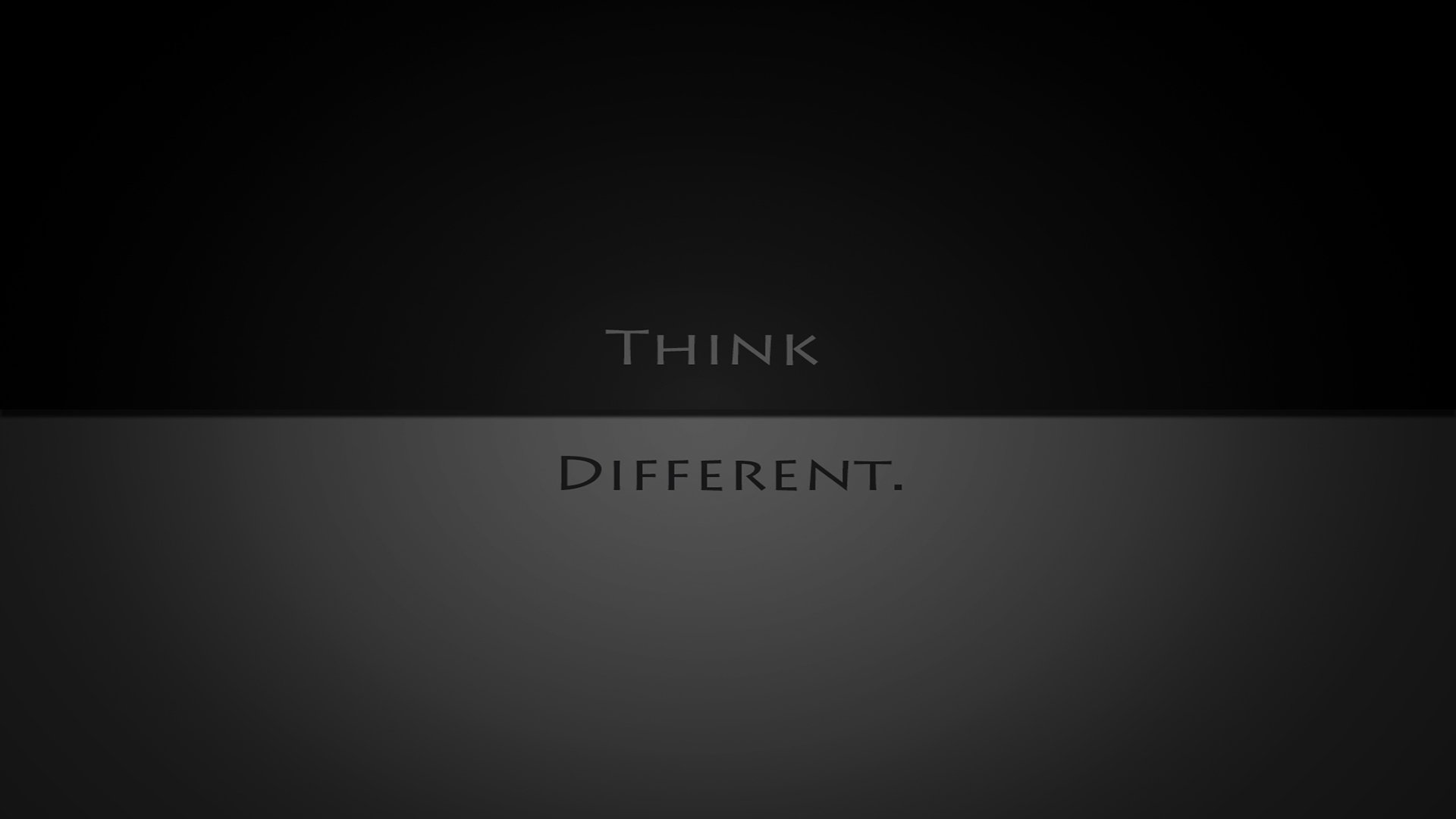 Think Different Hd Wallpaper