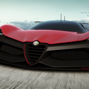 Alfa Romeo Zero wallpaper