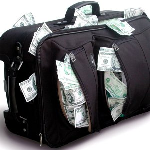 Bag Of Money wallpaper