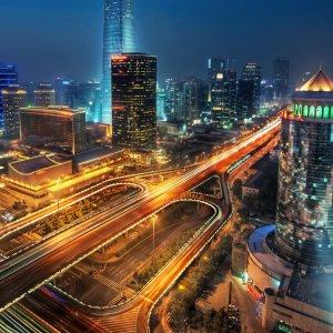 Wallpaper Beijing at Night