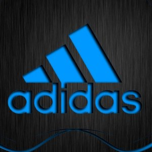 Blue Adidas wallpaper