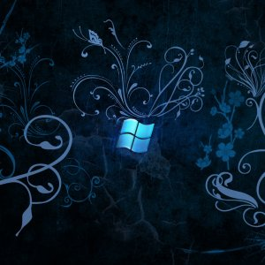 Blue Windows wallpaper