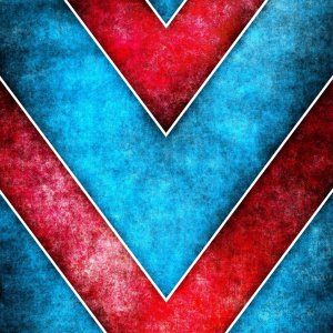 Blue and Red wallpaper