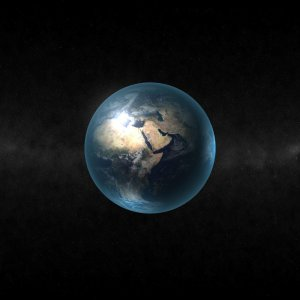 Earth in Space wallpaper