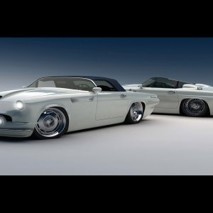 Ford Thunderbird wallpaper