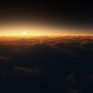 Sunrise Clouds wallpaper