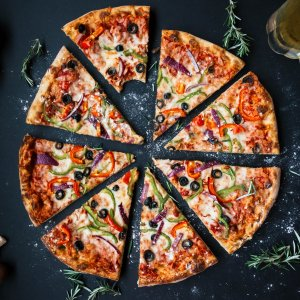 hd pizza wallpaper
